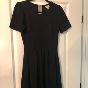 Lularoe Amelia Black Medium